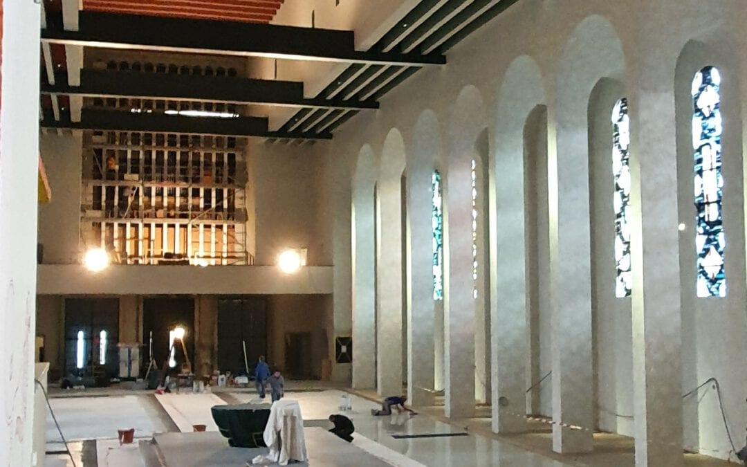 Bistum Limburg: Endspurt in der Frauenfriedenskirche