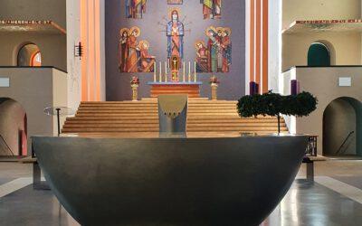 Die Frauenfriedenskirche ist eröffnet