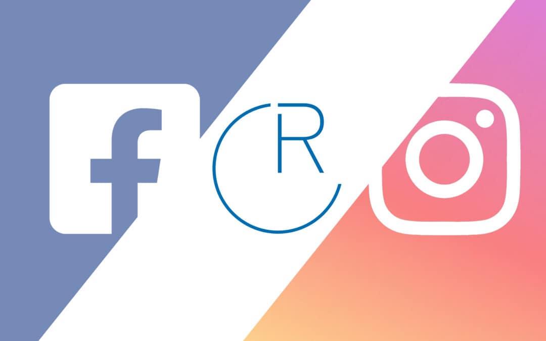 Wir sind bei Facebook und Instagram